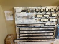 LIGHT BARS, LED, local for atv motor cycles and side by side utv