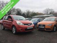 2009 09 NISSAN NOTE 1.6 ACENTA 5DR AUTO 110 BHP