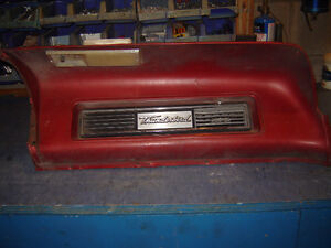 1967 FORD THUNDERBIRD PASSENGER SIDE SADDLE/ DASH PANEL
