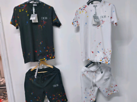 Dior Shorts And T-Shirt Set. All Sizes Available.
