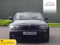 2012 62 BMW 1 SERIES 2.0 120I M SPORT 2D 168 BHP
