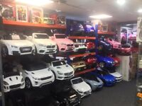 Largest Range Of Kids-Ride-On Cars From £100, Open Till 8