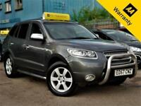 2007 HYUNDAI SANTA FE 2.2 CDX CRTD 148 BHP! P/X WELCOME! NEW BELTPUMP+F-LEATHER