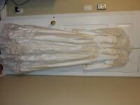 Wedding dress, sz 5