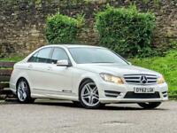 2012 Mercedes-Benz C Class 1.6 C180 BlueEFFICIENCY AMG Sport 4dr Saloon Petrol M