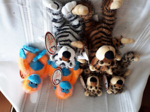 Assorted Stuffed Toy Animals