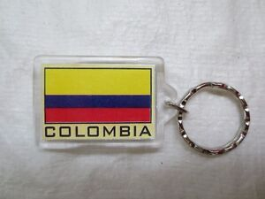 Colombia Flag Key Chains