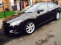 Mazda 6, Black, Diesel, Fully loaded