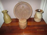 4 Pieces of Pottery - Excellent Condition