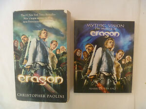 CHRISTOPHER PAOLINI - Eragon Paperback + extra book
