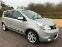 2010 Nissan Note 1.6 N-Tec 5dr Auto -Only 1 owner from new! MPV Petrol Automatic