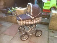 Mamas and papas pram and pushchair unit