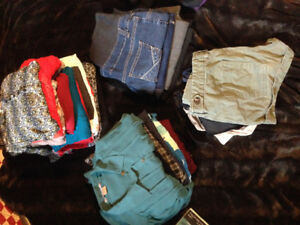 Huge lot of high quality, attractive maternity clothes (xs-s)