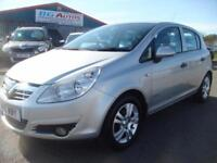 10 VAUXHALL CORSA 1.2 ENERGY 5DR SILVER LOW MILES LOW INSURANCE