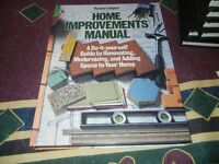 HOME IMPROVEMENT MANUAL by Readers Digest