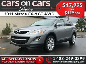 2011 Mazda CX-9 GT AWD w/Leather, Sunroof $119 B/W INSTANT APPRO