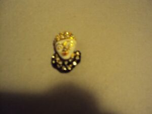 Vintage Pierrot brooch from Coys