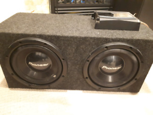 Subwoofer 800w with 1000w amp