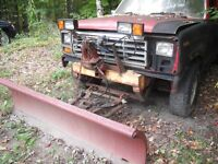 1984 Ford F-150 Plow Truck