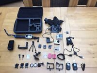 Ridiculous GoPro hero 3+ bundle in great condition