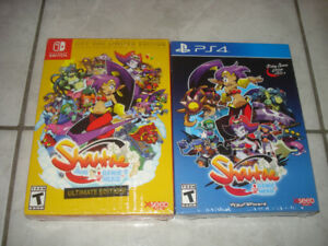 BRAND NEW Shantae Games (For Switch & PS4)!