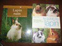 4 livres pour animaux (guide et informations)