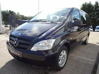 2012 Mercedes-Benz Vito 113 CDI TRAVELINER Diesel black Manual
