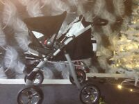 3 way pushchair from new born to 5+