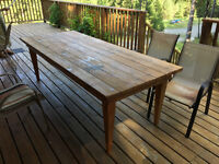Wooden Patio/Picnic Table