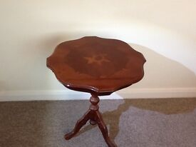 Small marquetry occasional table
