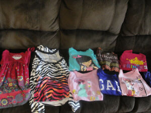 Adorable Long sleeve girls shirts lot size 7-8