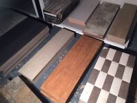 Tiles all shapes and sizes CLEARANCE