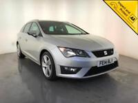 2014 SEAT LEON FR DIESEL ESTATE LEATHER INTERIOR £20 ROAD TAX SERVICE HISTORY