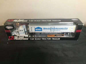Die Cast Promotions Bruce Edmeads Co. Tractor Trailer 1:64 Scale
