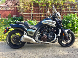 Become Part of Motorcycle Cult Status: Ride A Yamaha VMAX
