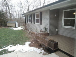 Bungalow main floor -- 3 bd, 2 bath, den, laundry, new kitchen