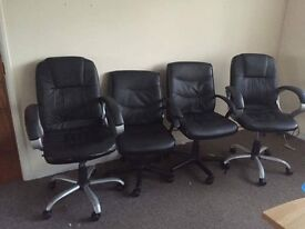 Office chairs £15 each or £50 the 4