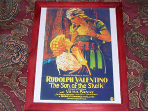Son Of The Sheik - Rudolph Valentino, Classic Silent Film Print! West Island Greater Montréal image 1
