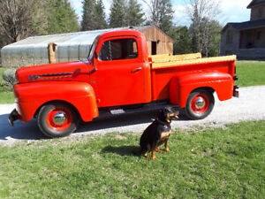 Ol'macdonald pick up truck 1950 f47