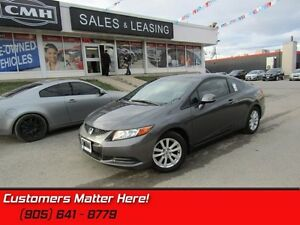 2012 Honda Civic EX-L   AUTOMATIC, NAVIGATION, SUNROOF, LEATHER!