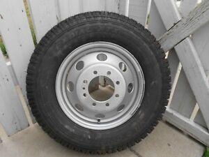 Wild Country LT225/75/16 Tire and Rim Off E350