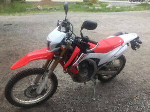 2016 HONDA CRF250L LOW KMS FINANCING AVAILABLE