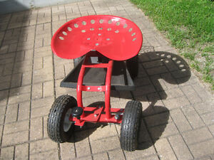 Lee Valley Steerable Rolling Garden Seat