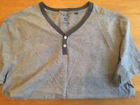 NEW Mens XL blue/grey t-shirt NEXT