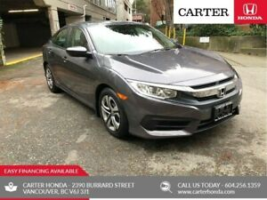 2017 Honda Civic LX + MANAGERS SPECIAL!