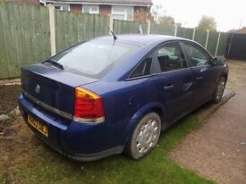 Vauxhall Vectra C 03 Plate 1.8 Petrol ,Mot March,Black Leather,Good Conditions