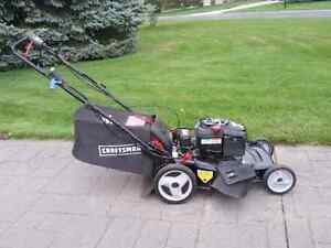 Self propelled Craftsman lawn mower with electric start