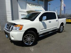 2015 Nissan Titan SL Crew Cab 4x4, Nav, Sunroof, Leather!!