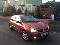 53 plate Renault Clio 1.2 extreme, just 65k, new mot, very clean car