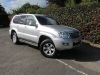 2006 06 TOYOTA LAND CRUISER 3.0 5D DIESEL MANUAL 8 SEATS GREAT CONDITION